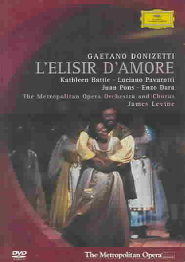 DONIZETTI:L'ELLSIR D'AMORE BY BATTLE,KATHLEEN (DVD)